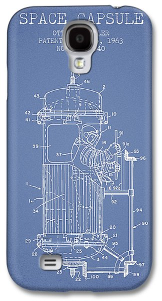 Orbit Galaxy S4 Cases - Space Capsule Patent from 1963 Galaxy S4 Case by Aged Pixel