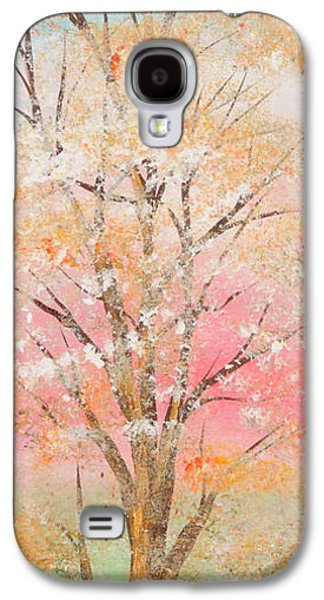 Landscape Acrylic Prints Galaxy S4 Cases - Spring Galaxy S4 Case by Roni Ruth Palmer