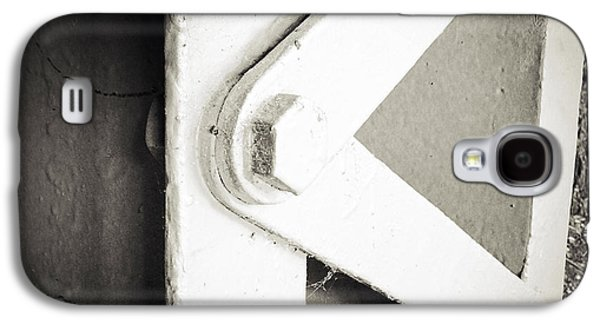 Steel Photographs Galaxy S4 Cases - Steel girder Galaxy S4 Case by Les Cunliffe