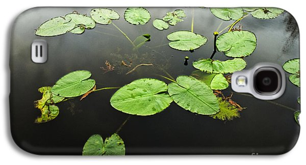 Lilly Pad Galaxy S4 Cases - Stillness Galaxy S4 Case by Scott Pellegrin