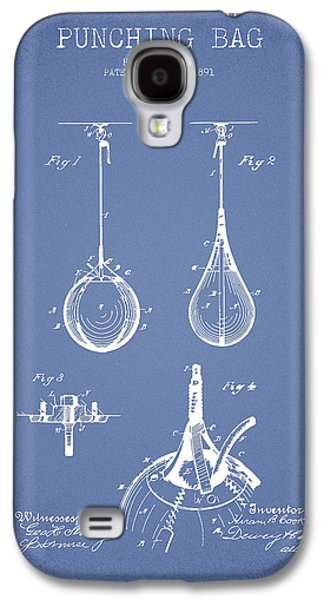 Punch Galaxy S4 Cases - Striking Bag Patent Drawing from1891 Galaxy S4 Case by Aged Pixel