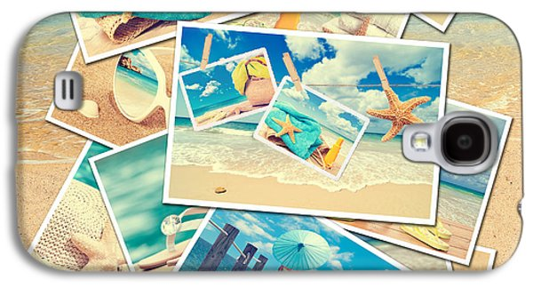 Beach Photography Galaxy S4 Cases - Summer Postcards Galaxy S4 Case by Amanda And Christopher Elwell