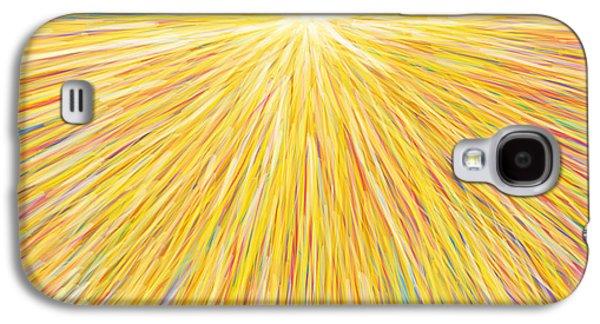Manual Galaxy S4 Cases - Sun Galaxy S4 Case by Atiketta Sangasaeng