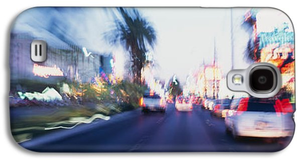 The Strip Galaxy S4 Cases - The Strip At Dusk, Las Vegas, Nevada Galaxy S4 Case by Panoramic Images