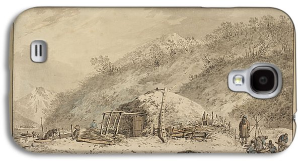 The Third Voyage Of Captain Cook Galaxy S4 Case by British Library