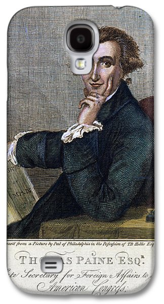 Rights Of Man Galaxy S4 Cases - Thomas Paine (1737-1809) Galaxy S4 Case by Granger