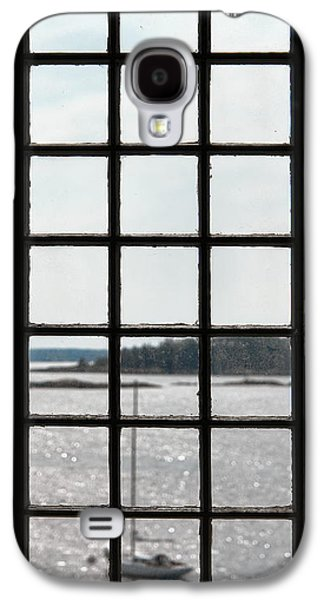 Historic Home Galaxy S4 Cases - Through an Old Window Galaxy S4 Case by Olivier Le Queinec