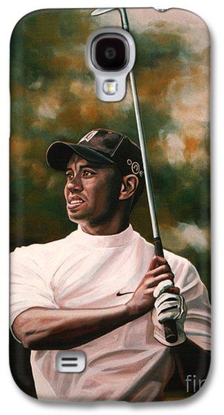 Tiger Woods  Galaxy S4 Case by Paul Meijering