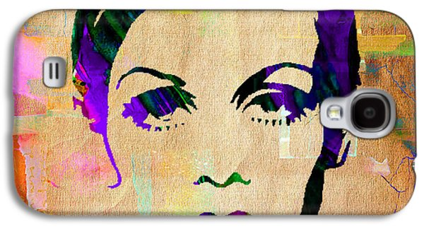 Twiggy Galaxy S4 Cases - Twiggy Collection Galaxy S4 Case by Marvin Blaine