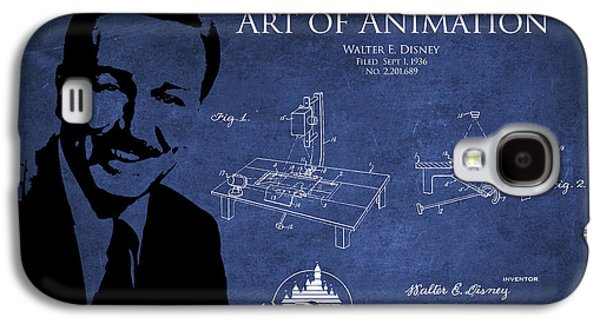 Animation Galaxy S4 Cases - Walt Disney Patent from 1936 Galaxy S4 Case by Aged Pixel