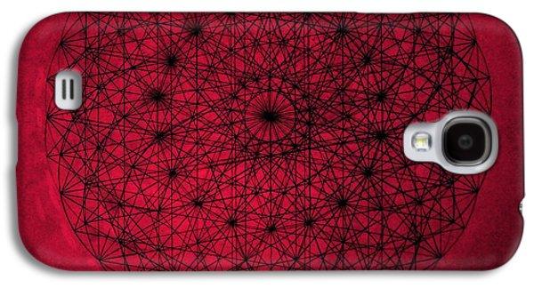 Fibonacci Galaxy S4 Cases - Wave Particle Duality Galaxy S4 Case by Jason Padgett