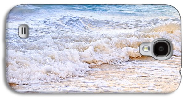 Waves Breaking On Tropical Shore Galaxy S4 Case by Elena Elisseeva
