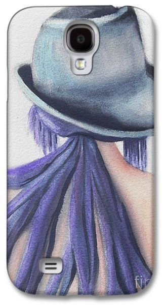 Abstracted Galaxy S4 Cases - What Lies Ahead Series Galaxy S4 Case by Chrisann Ellis