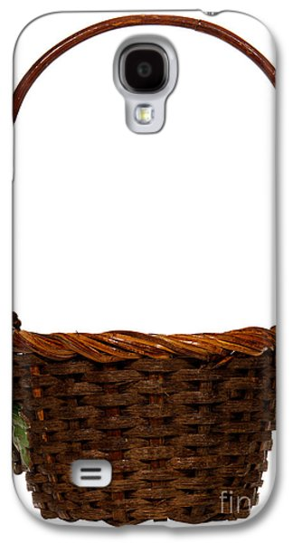 Basket Galaxy S4 Cases - Wicker Basket Galaxy S4 Case by Olivier Le Queinec