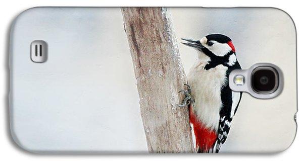 Woodpecker Galaxy S4 Case by Heike Hultsch