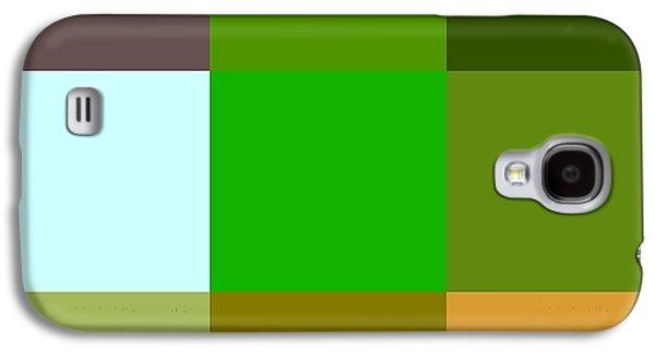 Landscape Acrylic Prints Galaxy S4 Cases - Color palette  Galaxy S4 Case by France Laliberte
