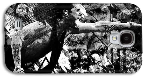 30 Seconds To Mars - Jared Leto Galaxy S4 Case by Ryan Rock Artist