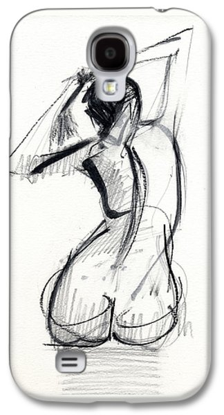Black Drawings Galaxy S4 Cases - RCNpaintings.com Galaxy S4 Case by Chris N Rohrbach