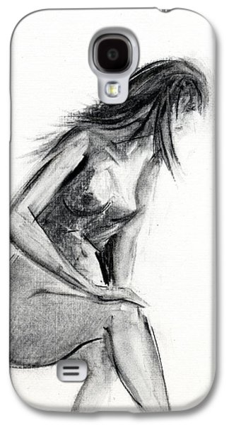 Nudes Drawings Galaxy S4 Cases - RCNpaintings.com Galaxy S4 Case by Chris N Rohrbach