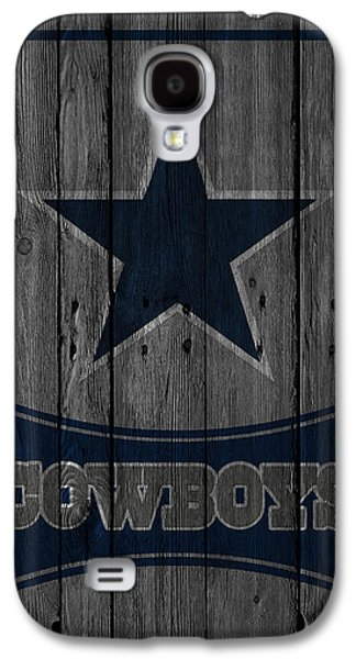 Nfl Galaxy S4 Cases - Dallas Cowboys Galaxy S4 Case by Joe Hamilton
