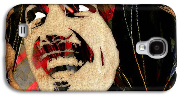George Harrison Collection Galaxy S4 Case by Marvin Blaine