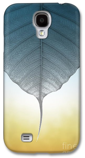 Nature Abstracts Galaxy S4 Cases - Pho Or Bodhi Galaxy S4 Case by Atiketta Sangasaeng