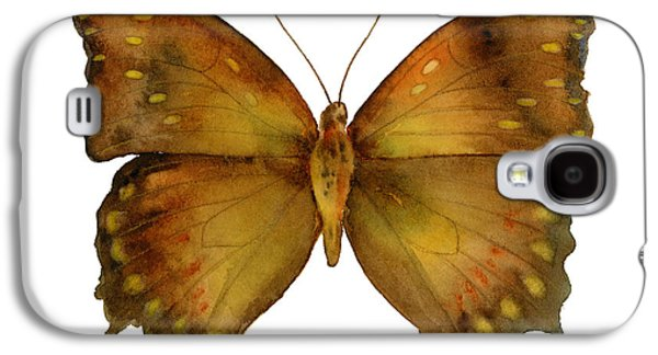 Genus Galaxy S4 Cases - 34 Charaxes Butterfly Galaxy S4 Case by Amy Kirkpatrick