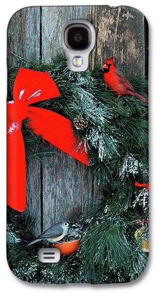 Northern Cardinal (cardinalis Cardinalis Galaxy S4 Case by Richard and Susan Day