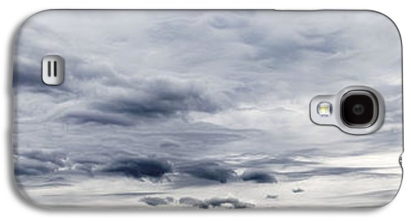 Grey Clouds Photographs Galaxy S4 Cases - Clouds Galaxy S4 Case by Les Cunliffe