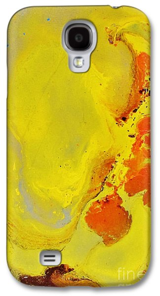 Sha Galaxy S4 Cases - Hard Rock Inspired Color of natur Galaxy S4 Case by Bozena Simeth