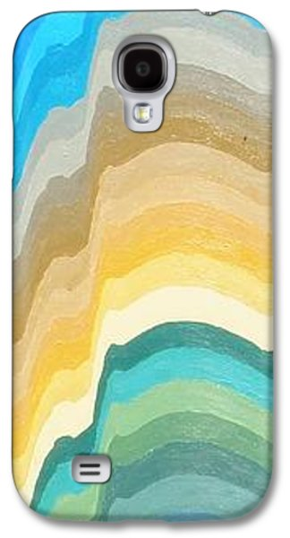 Half Dome Paintings Galaxy S4 Cases - 36 Views of Half Dome Galaxy S4 Case by Mike  Hoover