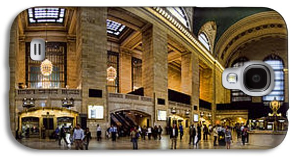 Panoramic Galaxy S4 Cases - 360 Panorama of Grand Central Station Galaxy S4 Case by David Smith