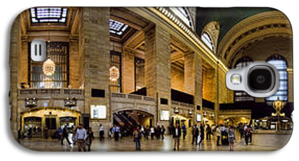 360 Panorama Of Grand Central Terminal Galaxy S4 Case by David Smith