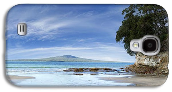 Beach Landscape Galaxy S4 Cases - New Zealand Galaxy S4 Case by Les Cunliffe