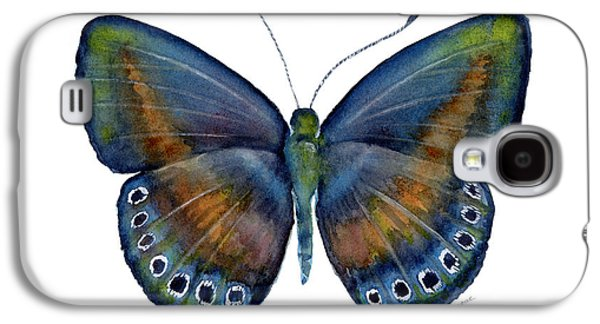 Moth Paintings Galaxy S4 Cases - 39 Mydanis Butterfly Galaxy S4 Case by Amy Kirkpatrick