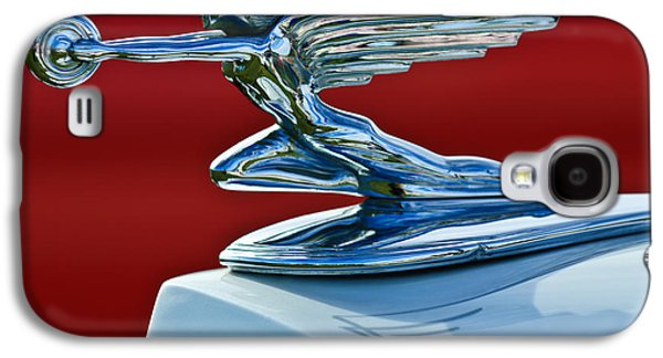 1936 Packard Hood Ornament Galaxy S4 Case by Jill Reger
