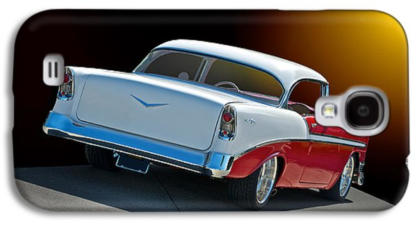 Slam Galaxy S4 Cases - 1956 Chevrolet Bel Air Galaxy S4 Case by Dave Koontz