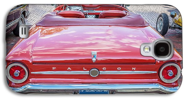 1963 Ford Falcon Sprint Convertible  Galaxy S4 Case by Rich Franco