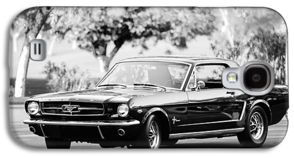Transportation Photographs Galaxy S4 Cases - 1965 Shelby Prototype Ford Mustang  Galaxy S4 Case by Jill Reger