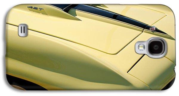 Transportation Photographs Galaxy S4 Cases - 1967 Chevrolet Corvette Hood Galaxy S4 Case by Jill Reger