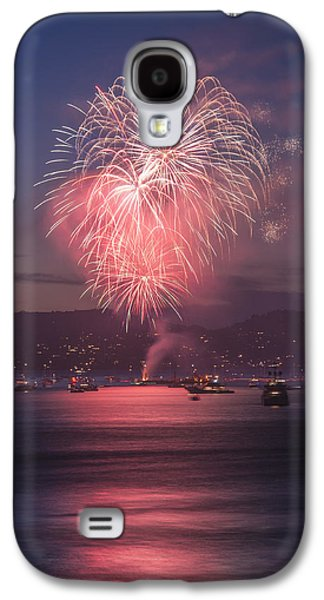4th July Pyrography Galaxy S4 Cases - 2014 4th of July Firework Celebration.  Galaxy S4 Case by Jason  Choy
