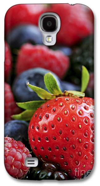 Assorted Fresh Berries Galaxy S4 Case by Elena Elisseeva
