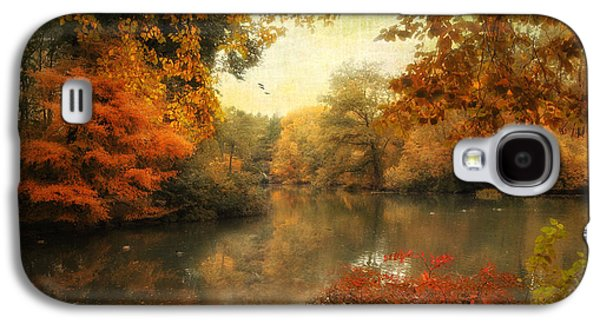 Autumn Landscape Digital Art Galaxy S4 Cases - Autumn Afternoon  Galaxy S4 Case by Jessica Jenney