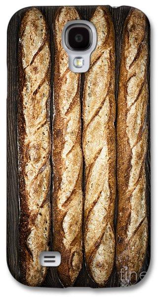 Rustic Galaxy S4 Cases - Baguettes Galaxy S4 Case by Elena Elisseeva