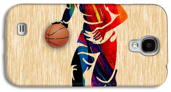 Basketball Galaxy S4 Case by Marvin Blaine