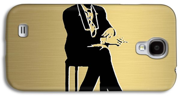 Bob Dylan Gold Series Galaxy S4 Case by Marvin Blaine