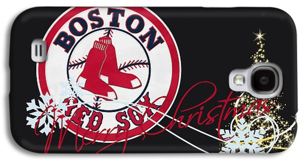 Barn Doors Galaxy S4 Cases - Boston Red Sox Galaxy S4 Case by Joe Hamilton