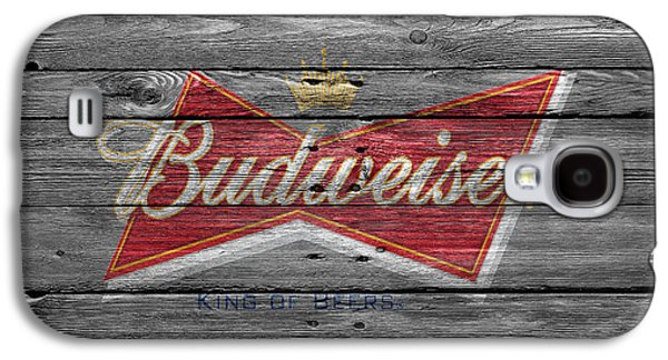 Drink Photographs Galaxy S4 Cases - Budweiser Galaxy S4 Case by Joe Hamilton