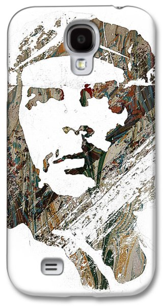 Revolutionary War Mixed Media Galaxy S4 Cases - Che Guevara Galaxy S4 Case by Celestial Images
