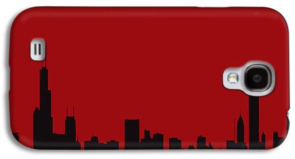Chicago Bulls Galaxy S4 Cases - Chicago Bulls Galaxy S4 Case by Joe Hamilton
